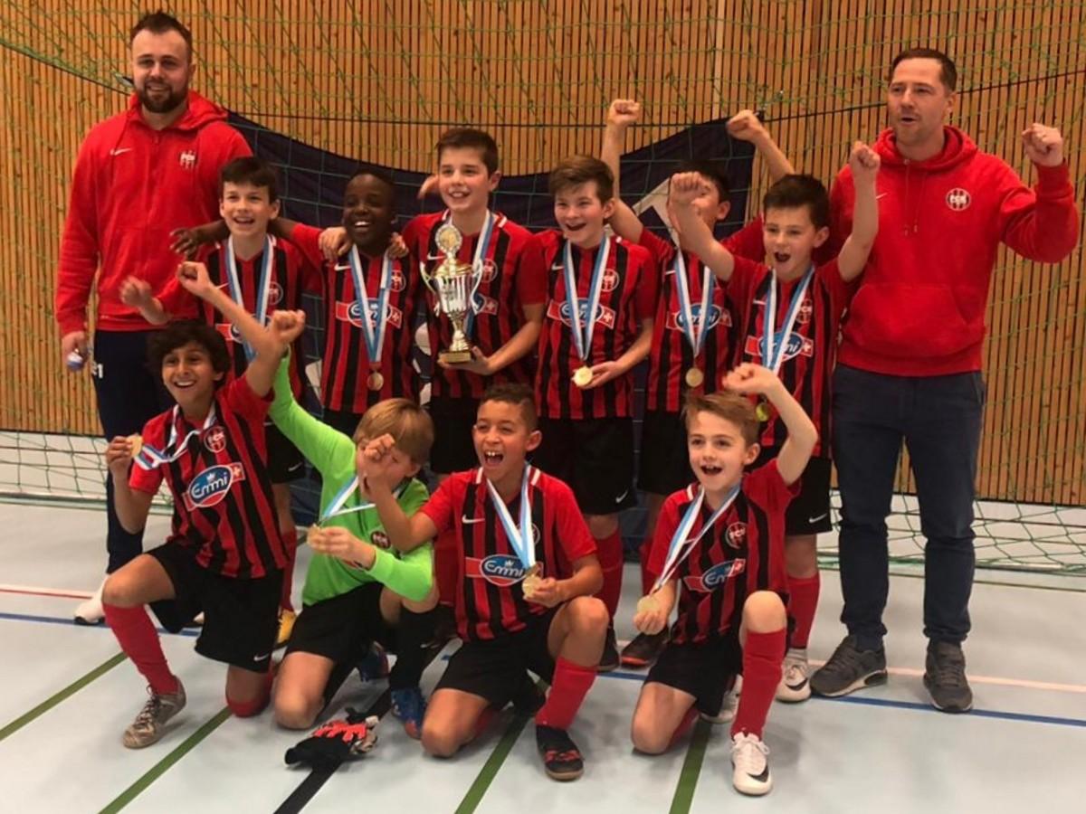 Kickers mit 2. IFV Hallentitel!   REGIOfussball.ch