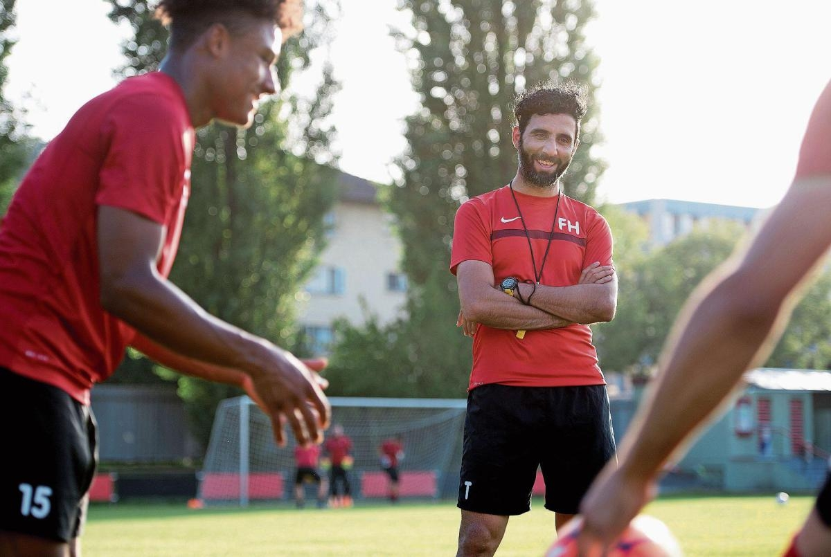 Kickers startet in die 4. Saison mit Faras Hayavi